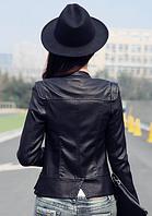 Жіноча шкіряна куртка. Модель 2041, фото 5