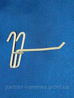 Крючок на сетку одинарный длина 50 мм, фото 1