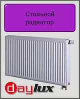 Стальной радиатор Daylux 500х1200 22 типа нижнее подключение