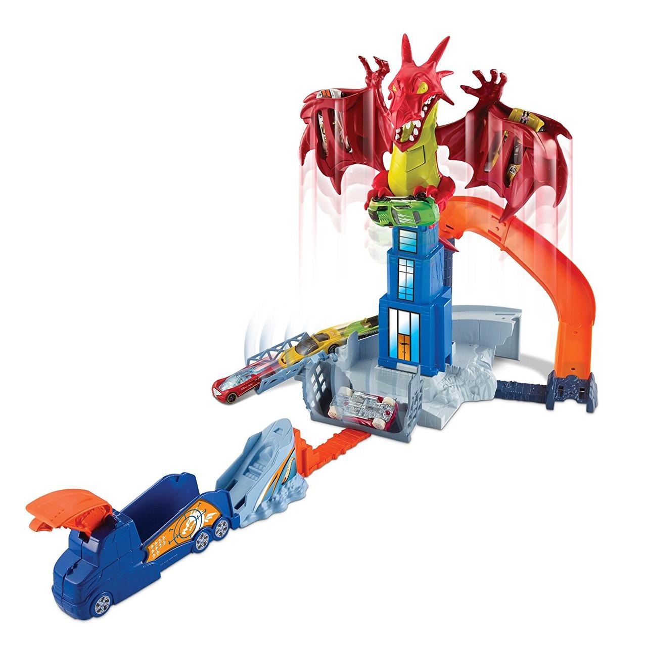 Трек Хот Вілс Атака Дракона Hot Wheels Dragon Blast