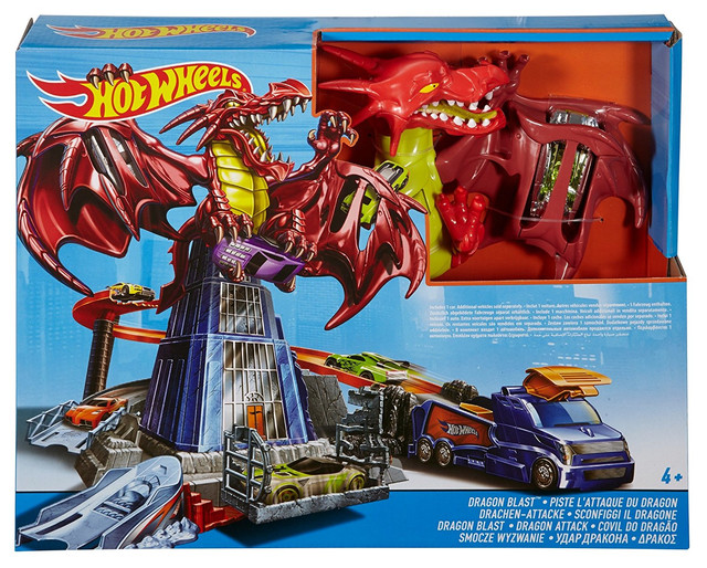 Хот Вілс Атака Дракона Hot Wheels Dragon Blast