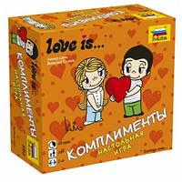 Настольная игра Love is Комплименты 10+ 2-6 игроков