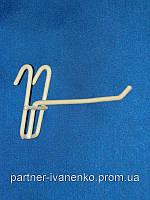 Крючок на сетку одинарный длина 200 мм, фото 1