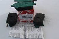 Тормозные колодки передние  TOYOTA  COROLLA  COROLLA VERSO оригинальный номер 04465-13050