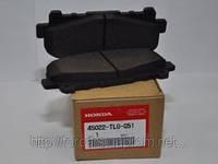 Колодки тормозные передние HONDA Accord c 2008г 45022TL0G51