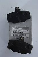 Колодки тормозные задние  Nissan ALMERA оригинальный номер D4060BM40A