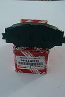 Тормозные колодки колодки передние  TOYOTA  AURIS  COROLLA   оригинальный номер 04465-02220