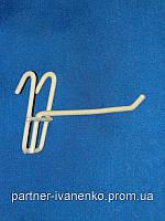 Крючок на сетку одинарный длина 300 мм, фото 1