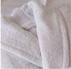 Халат махровый белый XХL хлопок 100%, фото 2
