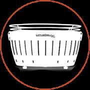 LotusGrill - Оригинальный ,бездымный угольный грилль. Лучший подарок мужчине ! Белый