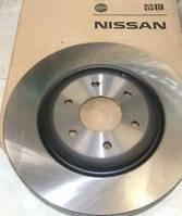 Передние тормозные диски Nissan Qashqai (J10E) (2006- ) 40206-JD00A
