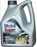 Полусинтетическое моторное масло Mobil 2000 10w40  4литра