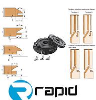 Комплект фрез  для обработки  шипа и обвязки двух видов мебельных фасадов
