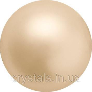 Жемчуг Preciosa (Чехия) перламутровый 10 мм Gold