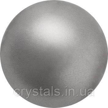 Жемчуг Preciosa (Чехия) перламутровый 12 мм Dark Grey
