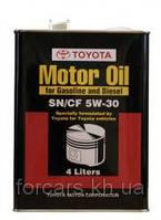 Моторное масло для бензиновых и дизельных двигателейTOYOTA MOTOR OIL 5W30 SN/CF 08880-83322