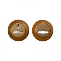 Комплект накладок Protect R-59 под сувальдный ключ кофе