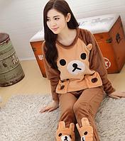Женские теплые пижамы.Модель 2042, фото 2