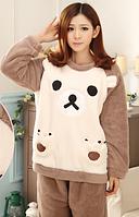 Женские теплые пижамы.Модель 2042, фото 3
