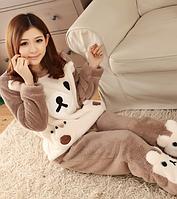 Женские теплые пижамы.Модель 2042, фото 4