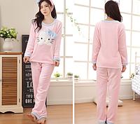 Женские теплые пижамы.Модель 2042, фото 5