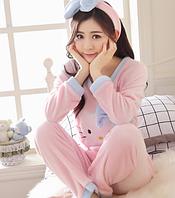 Женские теплые пижамы.Модель 2042, фото 6