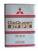 Жидкость для АКПП  MITSUBISHI DIAQUEEN ATF-SPⅢ  4л     4024610