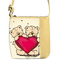 Детская сумочка для девочки Little princess с принтом Мишки
