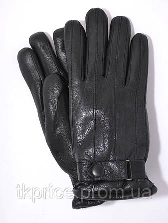 Купить Мужские зимние перчатки из оленьей кожи на цигейке недорого с ... 14cc5ce2a94
