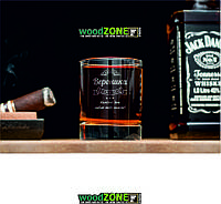 Именной стакан для виски I love you