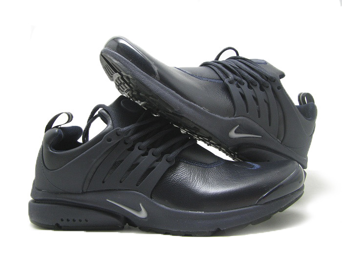 Кроссовки мужские Nike Air Presto3 кожа -тёмн/син