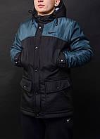 Парка демисезонная, куртка мужская, весенняя, осенняя Nike, до - 5 градусов