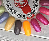 Гель-лак My Nail №137 (теплый серый с микроблеском)) 9 мл, фото 4