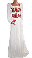 "Жіноче вишите плаття ""Ненсі"" (Женское вышитое платье ""Ненси"") PR-0019"