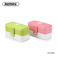 Ланч-бокс Remax Lunch Box RT-BT01 белый с зеленым