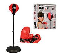 Развивающая игра Чемпионский набор Бокс: боксерская груша на стойке и перчатки