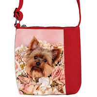 Детская сумочка для девочки Маленькая принцесса с принтом щенок