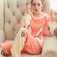 Женские теплые пижамы.Модель 2043