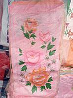Кухонное полотенца роза