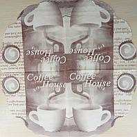 "Салфетка декупажная 33x33см 22 ""coffee house blak """