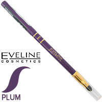 Eveline - Max Precision Карандаш 2х-стор. механический с растуш. (спонж) Тон фиолет
