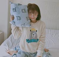 Женские теплые пижамы.Модель 2045, фото 4