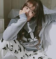 Женские теплые пижамы.Модель 2045, фото 2
