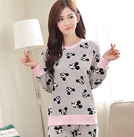 Женские теплые пижамы.Модель 2045, фото 5
