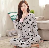 Женские теплые пижамы.Модель 2045, фото 6