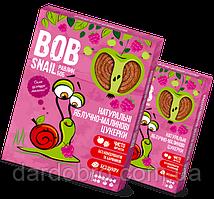 Натуральні яблучно-малинові цукерки Snail Bob Равлик Боб, 120 г