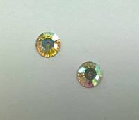 Пришивные паетки хрустальные Preciosa (Чехия) Crystal AB