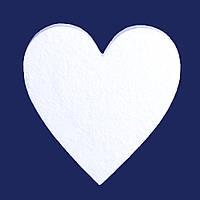 Сердце из пенопласта 10 см