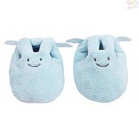 Тапочки Кролик-ангелочек Trousselier, голубые,  0-2 года