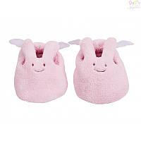 Тапочки Кролик-ангелочек Trousselier, розовые,  0-2 года